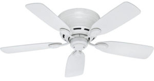 Hunter Fan Company Hunter Transitional 42-inch Best Outdoor Ceiling Fans from Low Profile IV collection
