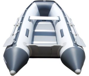 Newport Vessels 9ft 6in Del Mar - Best Inflatable Boat - Transom Sport Tender Boat, 4 Person - 10 Horsepower - USCG Rated