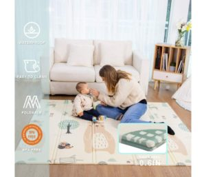 Best Baby Play Mat Folding Extra Large Thick Foam