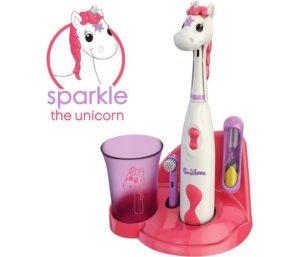 Brusheez Kid's Electric Toothbrush Set - Sparkle The Unicorn