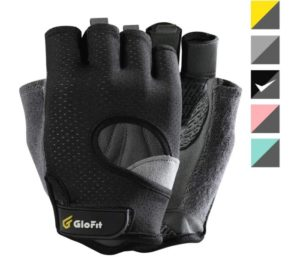 Glofit FREEDOM Workout Gloves, Best Weight Lifting Gloves, Fingerless, for Powerlifting, Gym…