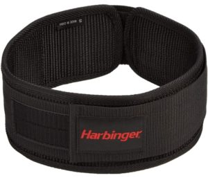 Harbinger 4-Inch Nylon Best Weightlifting Belt