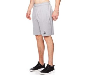 Reebok Men's Drawstring Shorts - Athletic Running, Workout Short, Pockets