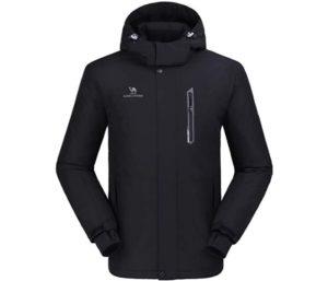 CAMEL CROWN Ski Jacket Waterproof Warm Cotton Snowboard