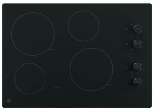 GE 30-Inch Smoothtop Best Electric Cooktops with 4 Radiant Elements