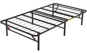 AmazonBasics Foldable, Metal Platform Bed Frame, Easy Assembly