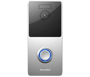 RemoBell WiFi Video Doorbell Night Vision 2-Way Audio, HD Video, Motion Sensor