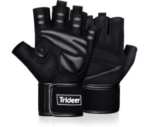 Trideer Padded Best Weight Lifting Gloves