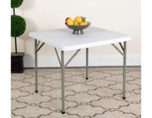 Flash Furniture Plastic Folding Table