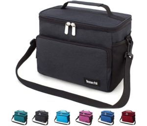 Leakproof Reusable Insulated Cooler LunchBag - Office Work Picnic Hiking Beach