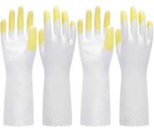 Pacific PPE PVC Best Dishwashing Gloves Latex Free Waterproof PVC Gloves for Kitchen Gardening