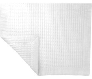 Premium Reversible Cotton Waffle Best Bath Mat Towel