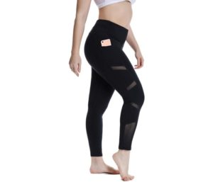 YOHOYOHA Women's Sexy Yoga Pants Breathable Mesh