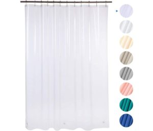 AmazerBath Plastic Shower Curtain without Chemical Odor