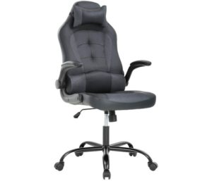 PU Leather Racing Reclining Computer Executive Desk