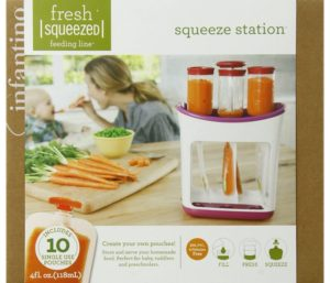 Infantino Best Blender For Baby Food Squeeze Station
