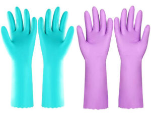 Reusable Dishwashing Cleaning Gloves
