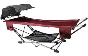 ZENITHEN LIMITED Best Folding Hammock with a Retractable Canopy