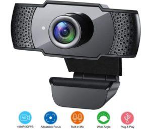 Best Wireless Webcam with Microphone By GESMA