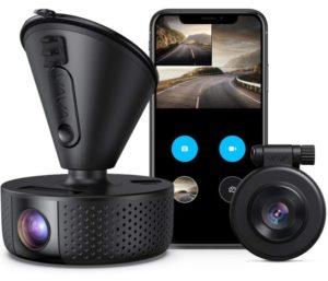 Dual Dashcam Wifi Dash Cam Loop recording