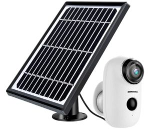 ZUMIMALL Solar Powered Wireless Security System