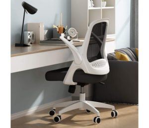 Hbada Best Office Chair under 200 with Flip-up Arms and Adjustable Height