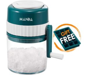 MANBA Ice Shaver and Snow Cone Machine Ice Crushers