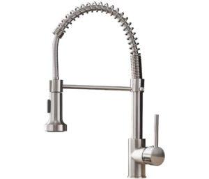 OWOFAN Wall Mount Kitchen Faucet