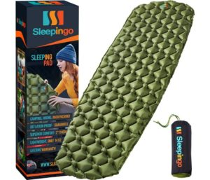 Sleepingo Best Camping Mattress for Outdoor, Backpacking Hiking Air Mattress