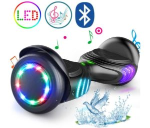 TOMOLOO Best Hoverboard for Kids with Speaker and LED Lights