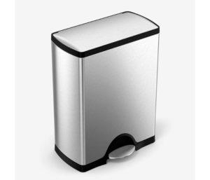 simplehuman 50 Liter (13.2-Gallon) Rectangular Best Kitchen Trash Can