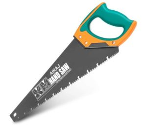AIRAJ Quick Cutting Best Hand Saw for Cutting Wood Branches and Comfortable Non-Slip Handles