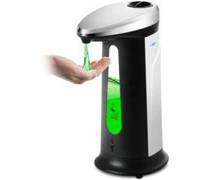 BISOZER Best Automatic Soap Dispenser Liquid Dish Sanitizer-Dispenser