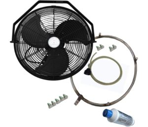 Best Outdoor Misting Fan - For Residential, Commercial, Restaurant and Industrial