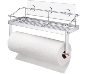 Carry360 Adhesive Paper Towel Holder Shelf