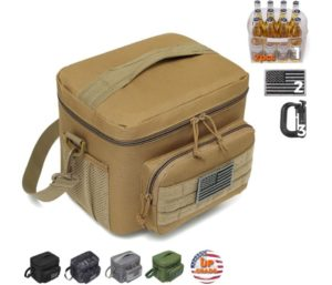 DBTAC Tactical Large Insulated Best Lunch Boxes For Men Women Adult, Fits 12-Cans