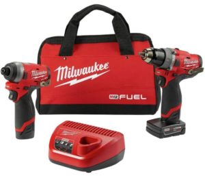 Milwaukee Electric Tools 1-2 Hammer Drill 1-4 Impact
