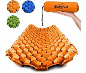 POWERLIX Sleeping Pad – Ultra-light Inflatable Air Mattress