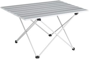 SOVIGOUR Aluminum Table with Carry Bag for Hiking, BBQ, Fishing and Travel