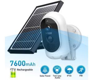 SPADE Solar Wireless Camera