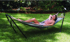 Texsport Best Folding Hammock Stand Crystal Bay Combo