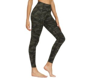 Varsoul Sexy-Pants for Yoga with 4 Pockets High Waisted Printed Workout Leggings