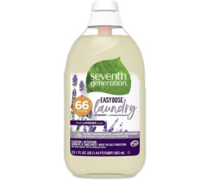 Seventh Generation Best Laundry Detergent with Smelling Ultra Concentrated Fresh Lavender