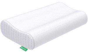 UTTU Sandwich Pillow, Adjustable Memory Foam Pillow Orthopedic Contour Pillow