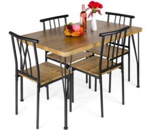 Best Choice Products Best Dining Tables Furniture Set with 4 Chairs