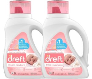 Best Smelling Laundry Detergent Natural for Baby Newborn or Infant by Dreft