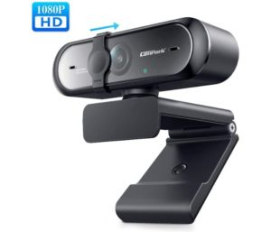Campark Autofocus USB Wireless Webcams Streaming Computer with Microphone