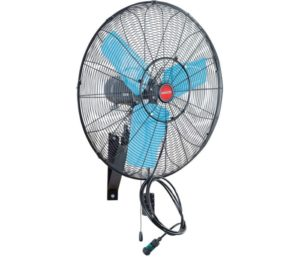 OEMTOOLS High-Velocity Misting Wall Mount Oscillating Fan