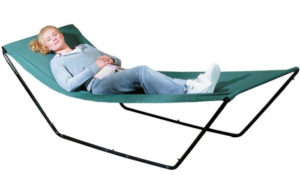 Portable Hammock For Travel – Space Saving Outdoor Foldable Free-Standing