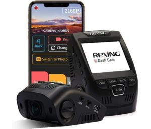 Rexing V1-4K Ultra HD Car Dash Cam Camera Recorder with G-Sensor